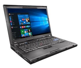 Lenovo Thinkpad T400 Laptop C2d 2.40ghz 2gb Ddr3 160gb Hd