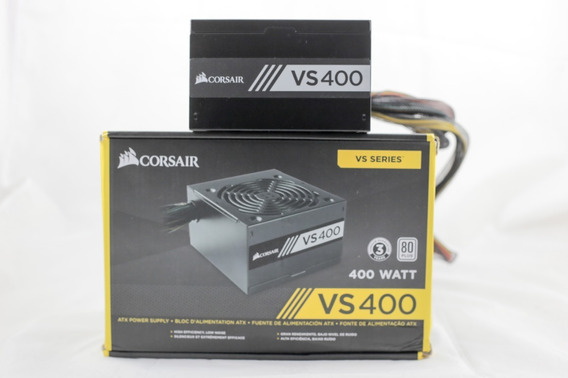 Fonte Corsair Vs400 400w Pc Gamer 80 Plus