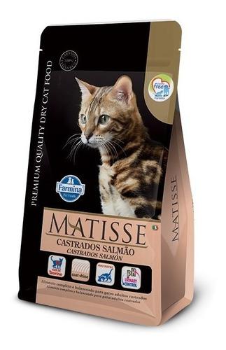 Alimento Farmina Matisse Gato Castrado Salmon 7.5 Kg Y Pate