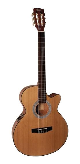 Guitarra Electroclásica Cort Cec1 +estuche Nuevos De Paquete