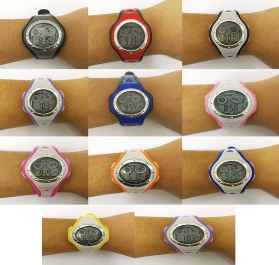 Relógio Digital Atacado Kit 5 Infantil Esporte Revender