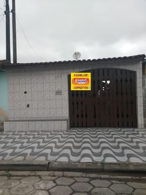 Casa Em Mongaguá No Balneário Jussara À Venda !!! Ref. 1205l
