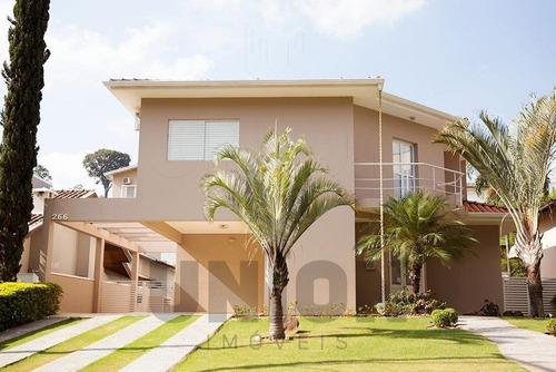 Casa Residencial Para Venda No Condomínio Bosque De Gravilea, Vinhedo/sp. - Ca00145 - 69400671