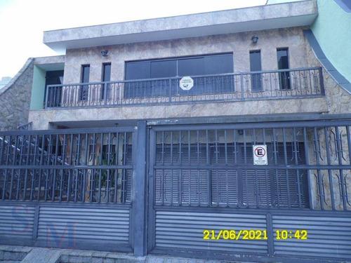 Imagem 1 de 30 de Casa Com 3 Dormitórios Para Alugar, 251 M² Por R$ 4.900/mês - Parque Central - Santo André/sp - Ca1048