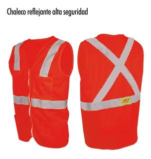 Chaleco De Alta Seguridad Reflejante