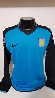 Camisa Aston Villa Away 09-10 M Longa Agbonlahor 11