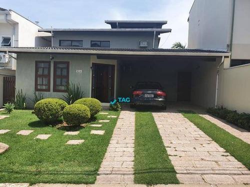 Imagem 1 de 6 de Casa Com 5 Dormitórios À Venda, 280 M² Por R$ 1.300.000 - Caminhos De San Conrado - Campinas/sp - Ca0864