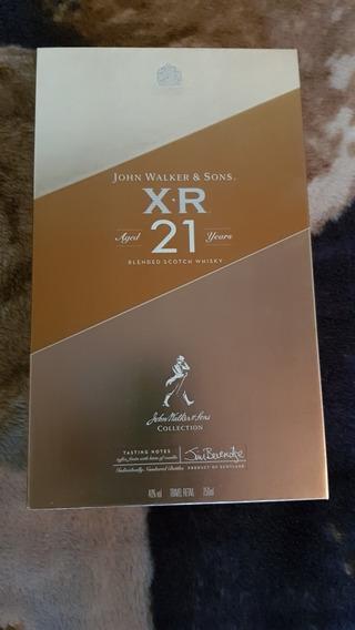 John Walker & Sons Xr 21 Años Del Duty Free