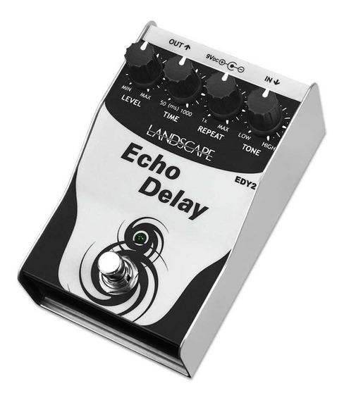 Pedal De Delay Landscape Echo Delay Edy 2 - Envio Em 24h