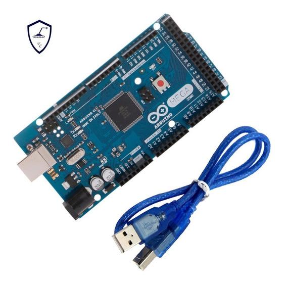 Arduino Mega 2560 R3 Atmega16u2 + Cabo Usb Incluso