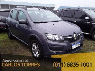 Renault Stepway Dynamique 1.6 Aa376xy Asesor Carlos Torres