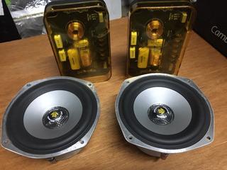 Alto Falante Momo Polk Audio M455 Com Woofer Polymer E Mica