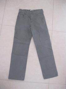 Pantalon De Vestir Kevingston Verde Oscuro Talle 8 Impecable