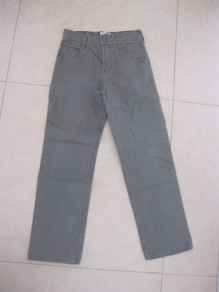 Pantalon De Vestir Kevingston Verde Oscuro Talle 8 Impecable