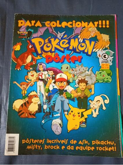 Pokémon - Pôster Conrad Editora N* 01 - 1999