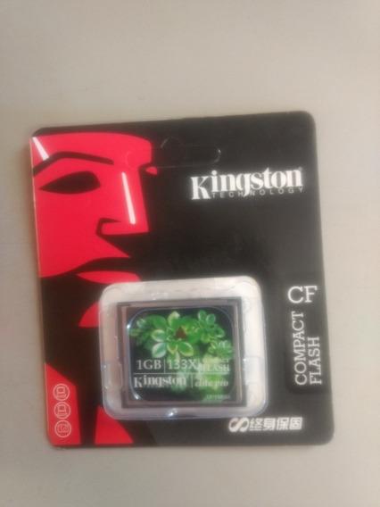 Cartão Compact Flash 1gb Kingston Elite Pro Pra Você Compra
