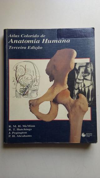 Livro Atlas Colorido De Anatomia Humana 3ª Edição
