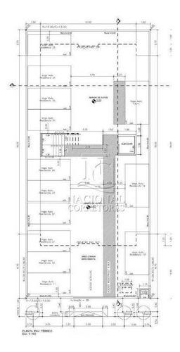 Imagem 1 de 20 de Cobertura Com 2 Dormitórios À Venda, 90 M² Por R$ 330.000,00 - Jardim Jamaica - Santo André/sp - Co5571