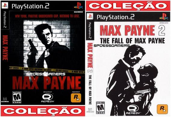 Max Payne 1 E 2 Ps2 Coleção (2 Dvds) Pt-br Patch .