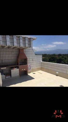 Imagem 1 de 12 de Cobertura Com 3 Dormitórios À Venda, 100 M² Por R$ 540.000,00 - Boracéia - Bertioga/sp - Co0260