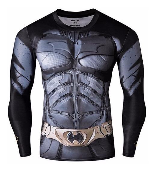 Camisa Batman Flash Superman Capitão América