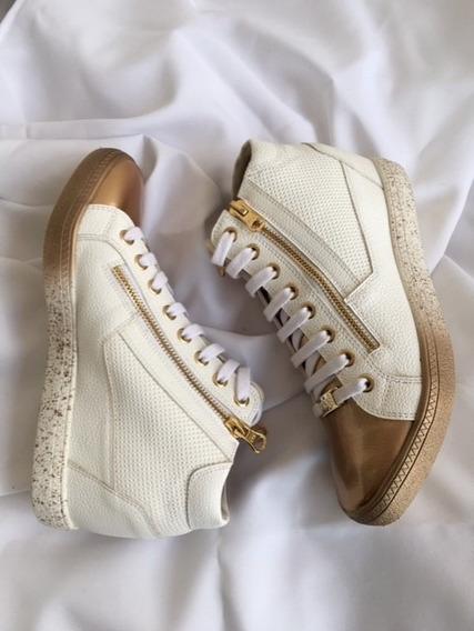 Sneaker Orcade Em Couro