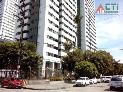 Apartamento Com 2 Dormitórios Para Alugar, 64 M² Por R$ 1.900/mês - Madalena - Recife/pe - Ap1009