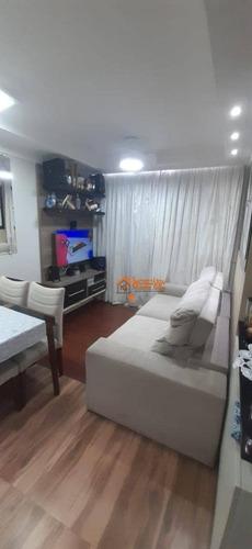 Apartamento À Venda, 49 M² Por R$ 265.000,00 - Jardim Bela Vista - Guarulhos/sp - Ap2834