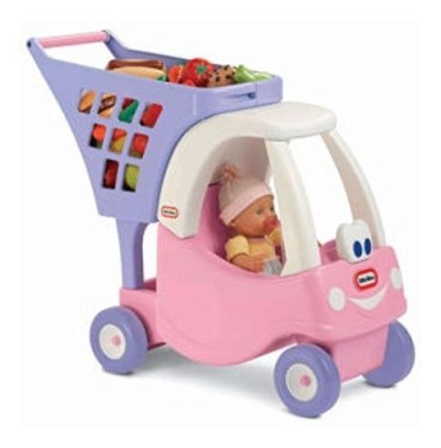 Little Tikes Cosy Shopping Cart Rosa Violeta