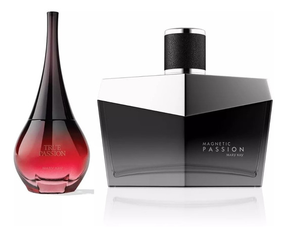 Perfume True Passion + Magnetic Passion Masculino Mary Kay