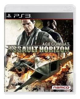 Ace Combat Assault Horizon Ps3 Mídia Física Pronta Entrega