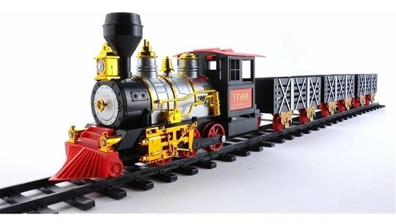 Ferrorama Trem Eletrico Maquina Locomotiva Grande 13x18cm