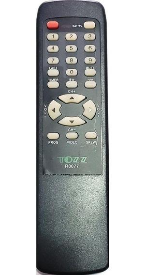 Controle Receptor Tecsat T-3000/t-3100 C0864 / R0077 Tozz