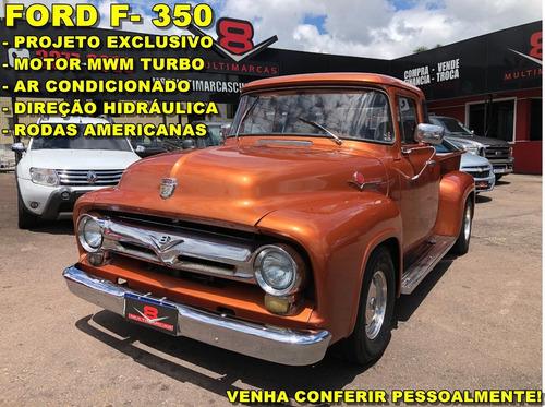 Ford F- 350 / F- 100 1960 Motor Mwm Projeto Exclusivo