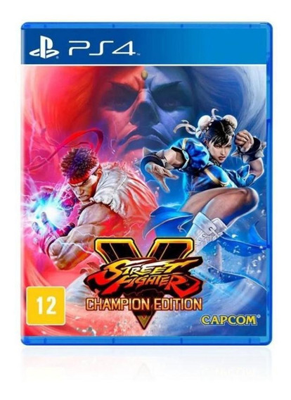 Jogo Game Street Fighter 5 Champion Edition - Ps4