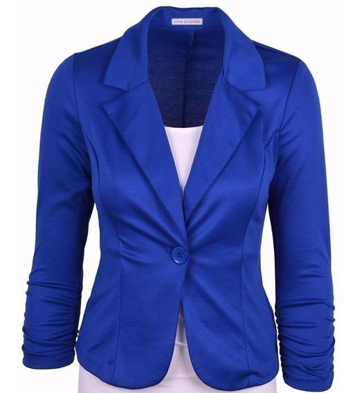 Kit 3 Blazers Femininos Fashion Alta Costura Promoção