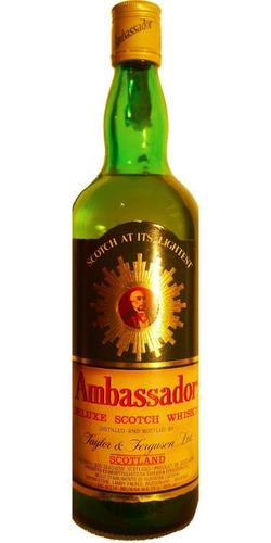 Ambassador De Luxe  Sw 75 Cl 43% Vol 1970