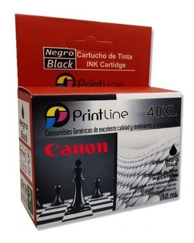 Cartucho Compatible Canon 40xl Negro Con Garantía Tienda 40