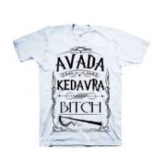 Camiseta Harry Potter Avada Kedavra Mod.01
