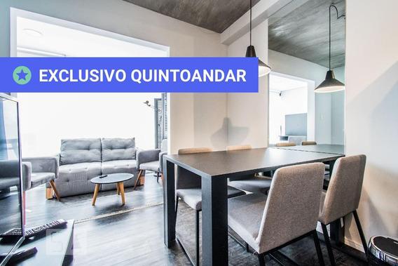 Apartamento No 11º Andar Mobiliado Com 1 Dormitório E 1 Garagem - Id: 892974808 - 274808