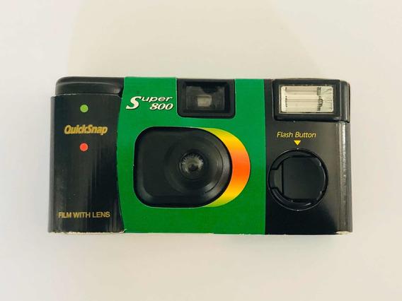 Camera Antiga Fujifilm Fujicolor Quicksnap Super 800