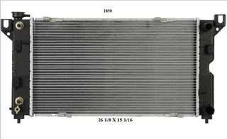 Radiador Chrysler Voyager 2000 2.4l Deyac T/a 26 Mm