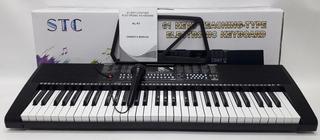Teclado Organo Musical Piano Electrico 61 Teclas+fuente 1003