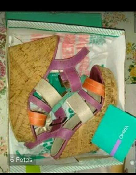Zapatos Viamo Talle 39 De Cuero!!