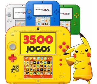 Nintendo 2ds + 1500 Jogos + 32gb + 3ds & Ds + Emuladores