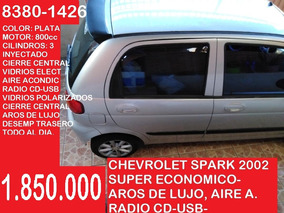Chevrolet Spark 2002 - 4 Pts - Manual 1.850.000 Al 8380-1426