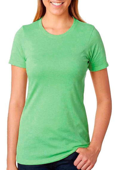 Remeras Lisas Dama - 100% Algodón - Todos Los Colores