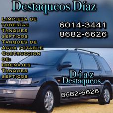 Destaqueos De Tuberías Y Sépticos Diaz 8682-6626 6014-3441