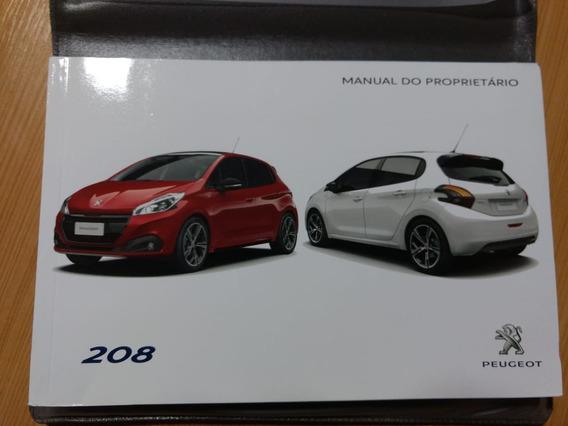 Manual Do Proprietário Peugeot 208 Sport 2017