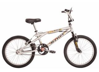 Bicicleta Bmx Freestyle Halley 16300 Rodado 20 Cromada